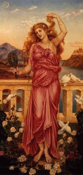 Helena de Tróia segundo Evelyn de Morgan, 1898