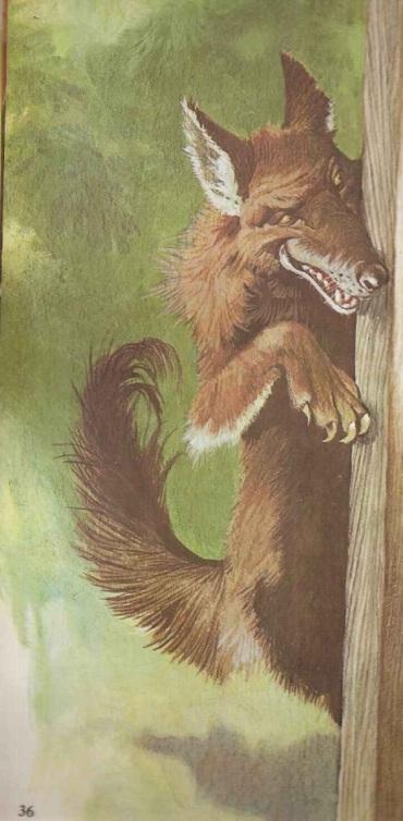 Lobo Mau e a vovozinha