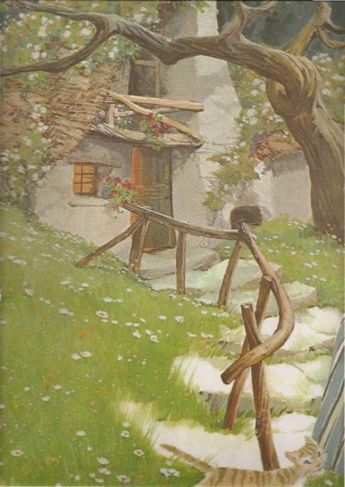 Chapeuzinho Vermelho, fábula infantil com ilustrações