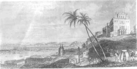 Charles Darwin aportou no Rio de Janeiro
