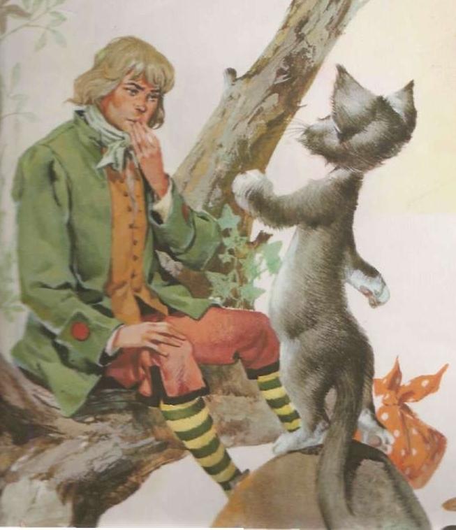 Resultado de imagem para história o gato de botas original