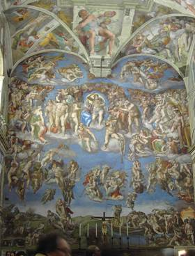 Miguelangelo – Juizo Final – Museu do Vaticano