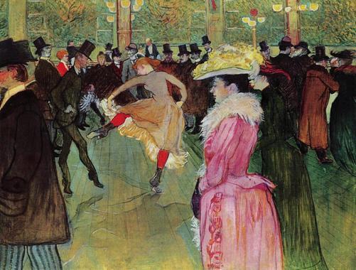 Toulouse-Lautrec, No Moulin Rouge: a Dança, 1890