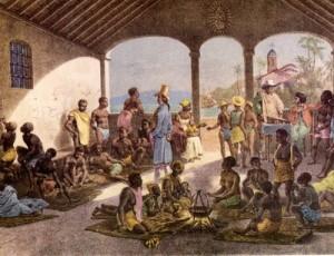 Rugendas - Mercado de Escravos