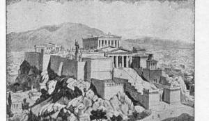 A Acrópole de Atenas