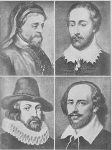 "Master Shakespeare e a menina de Stratford; Joan Bnnvan na pensao escrevendo o ""Pilgrim Progress""."