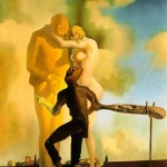 Salvador Dali--meditasyon-k'ap jwe gita-1934