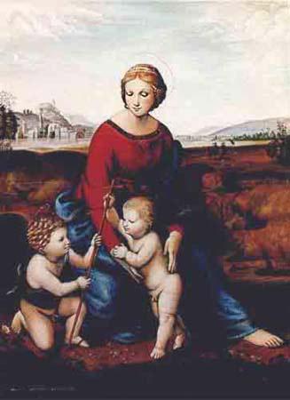 Madonna de Rafael (1483-1520).