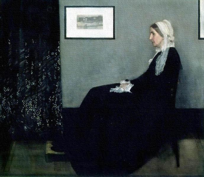"""Mãe"" James McNeill Whistler, 1834-1903."