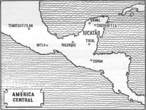 mapa america central