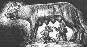 loba romana remo e rômulo
