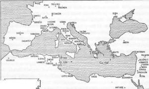 mapa roma itália