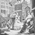 Cena Matutina em Londres, William Hogarth