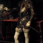 Filipe II, rei da Espanha. Retrato de Ticiano