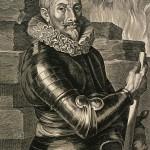 Conde de Tilly. Gravura de van Dyck