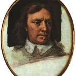 Oliver Cromwell - Miniatura de Samuel Cooper