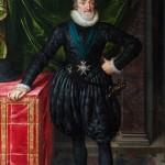 Henrique IV, quadro de Frans Pourbus