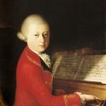 Mozart com 14 anos, quadro de Saviella della Rosa