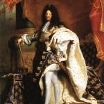 Luís XIV, rei da França. Retrato de Hyacinthe Rigaud.