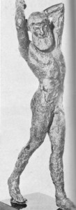 Alexandre Magno, Cabeça da I estátua em mármore, de Cirene I