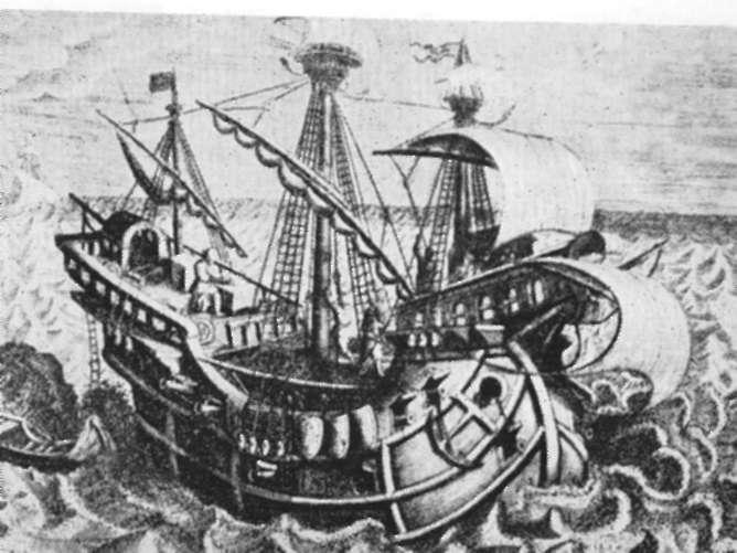 Observação náutica do século XVI