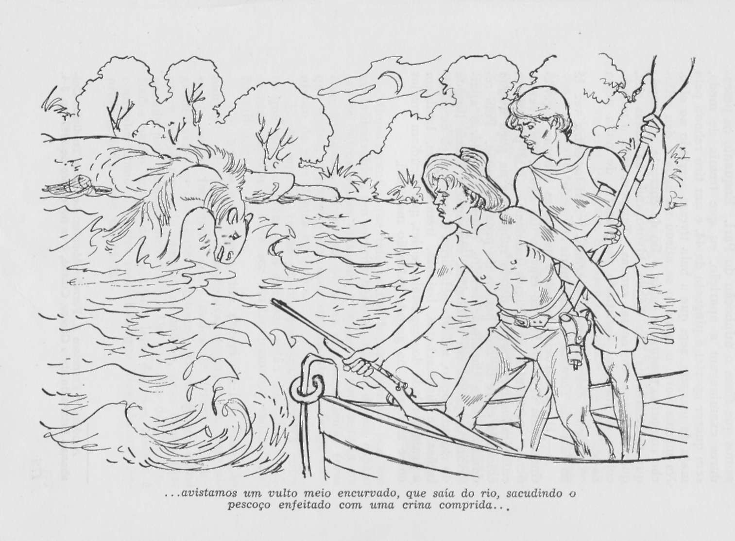 """A PESCA DE """"POITA"""" – conto curto de pescadores"""