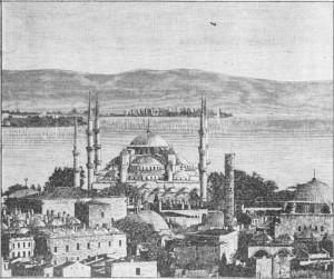 Fig. 361 — A mesma mesquita ãa gravura anterior vista do lado do Bósforo.