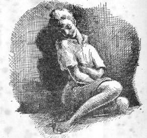 mulher gostosa sentada