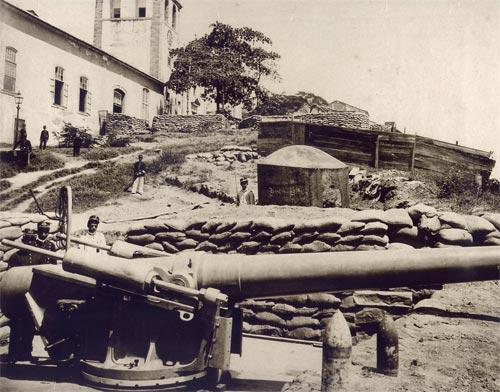 Pânico na população do Rio, durante a revolta da Armada