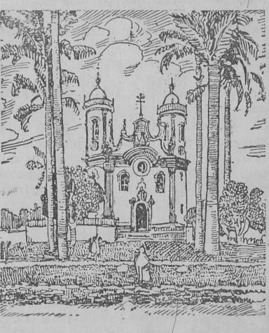 igreja de São Francisco de Assis, em São João d'El-Rey