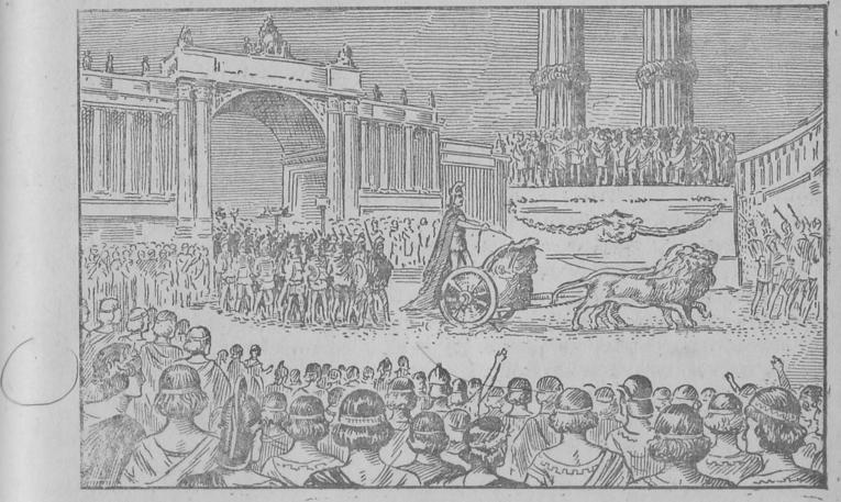 Magnificência dos triunfos romanos