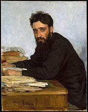 Retrato de Gárshin