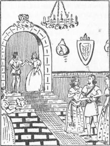 Miroslao apresentou-se ante a princesa