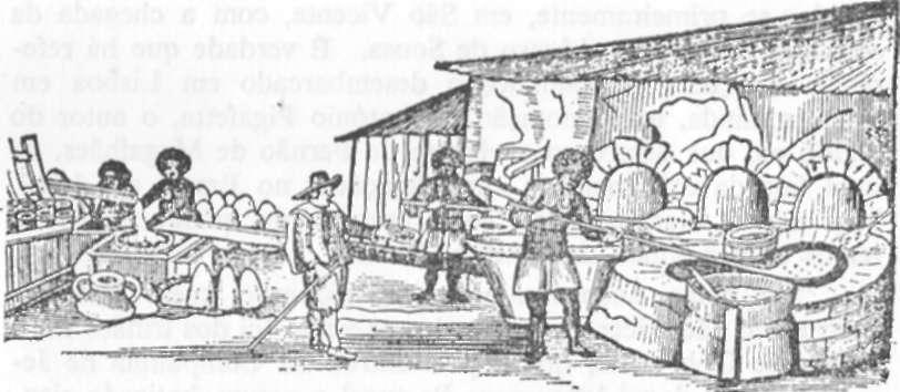 Fabricação do açúcar no século XVII.