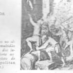O anti semitismo do século XVII. A multidão saqueia as casas dos judeus em 22 de Agosto de 1614