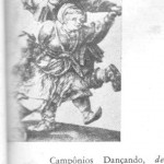 Camponeses dançando de Albrech Durer