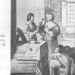 Loja de sapatos do século XVI de Abraão Bosse
