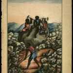 Escravos britadores. Carlos Juliao, Riscos illuminados de figurinhos de broncos e negros dos uzos do Rio de Janeiro e Serro do Frio (Rio de Janeiro, 1960).
