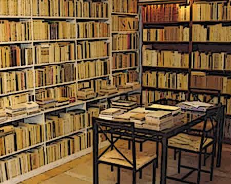 Biblioteca livros sabedoria