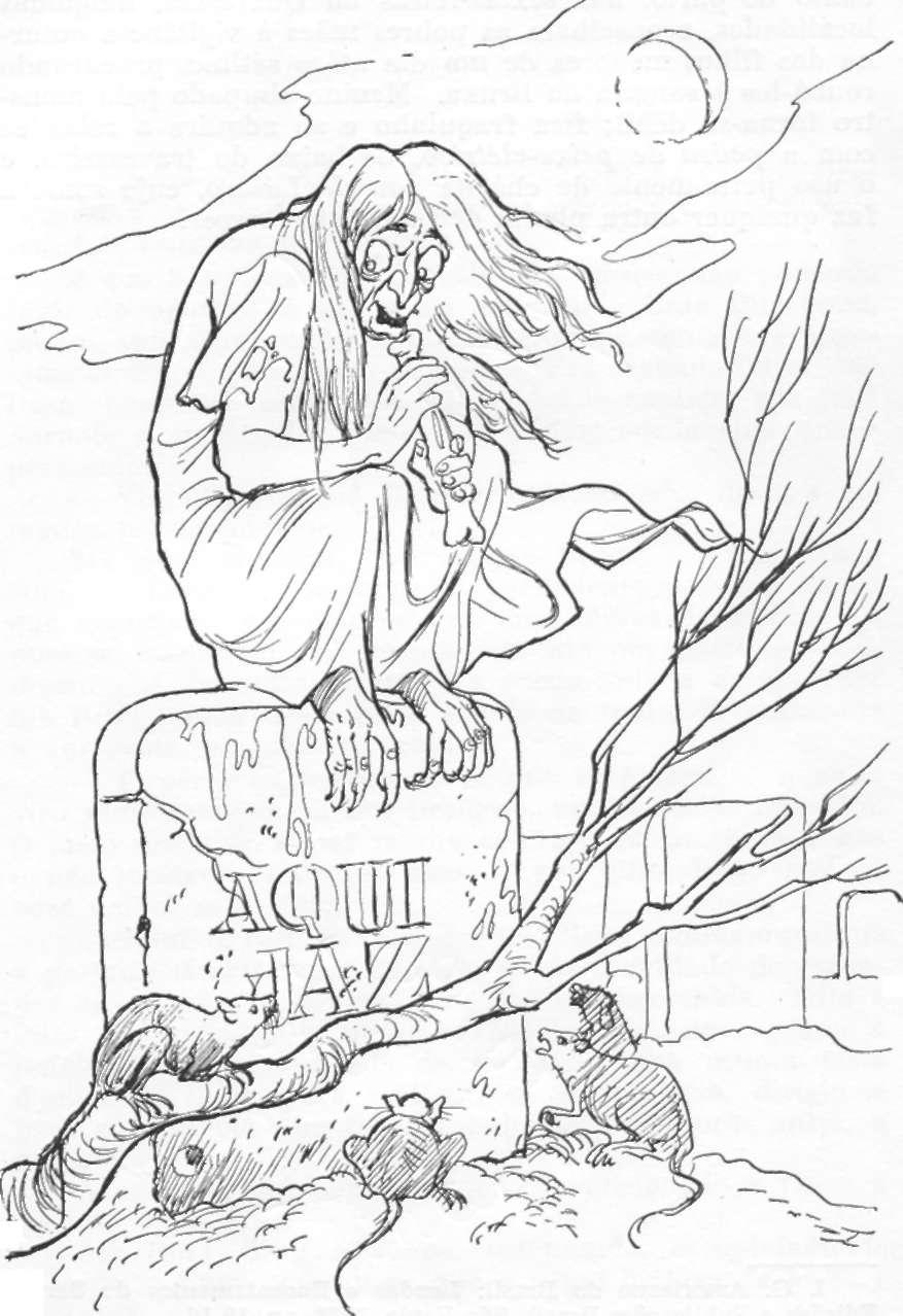 bruxa, personagem folclorico