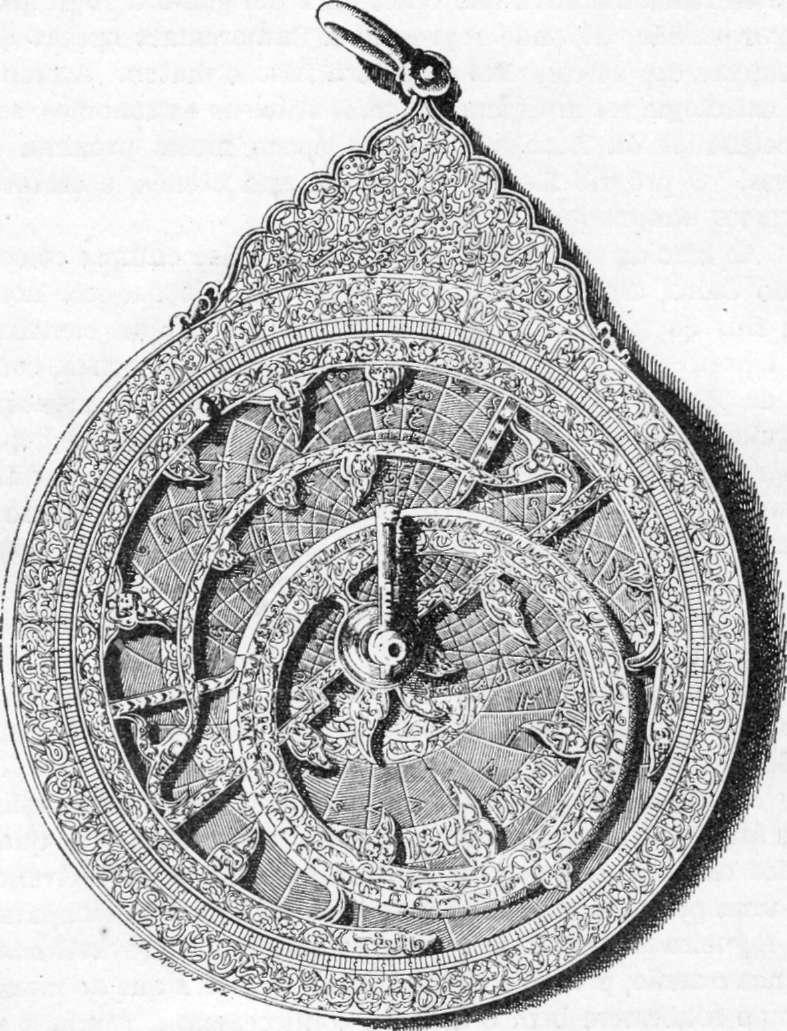 Fig. 230 — Face posterior do mesmo astrolábio.