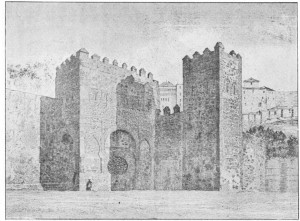 Fig. 311 — Forte de Bisagra, em Toledo.