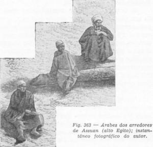 Árabes nos arredores de Assuan (Alto Egito)