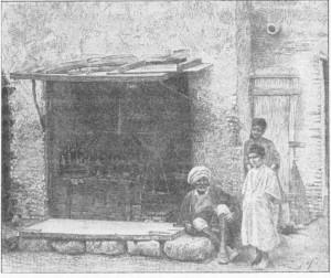 Fig. 365 — Mercador tunisiano.