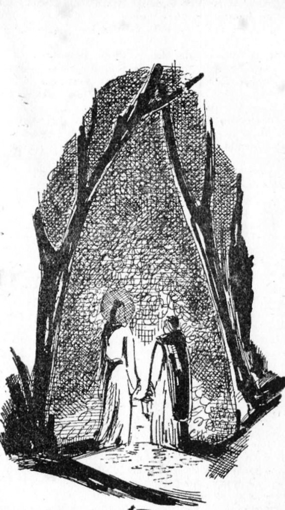 ilustração para conto de Wladyslaw  Reymont
